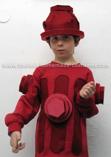 fire hydrant, what a great costume!