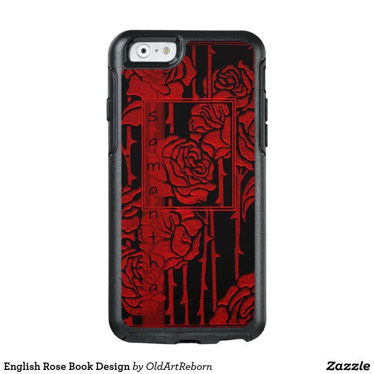 English Rose Book Design