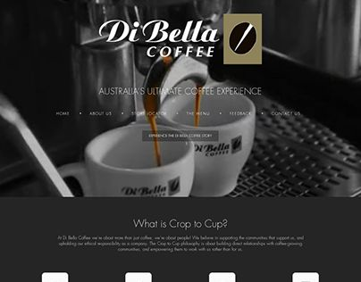 "Check out new work on my @Behance portfolio: ""Coffee Web Design – Di Bella Coffee Website"" http://be.net/gallery/36593669/Coffee-Web-Design-Di-Bella-Coffee-Website"