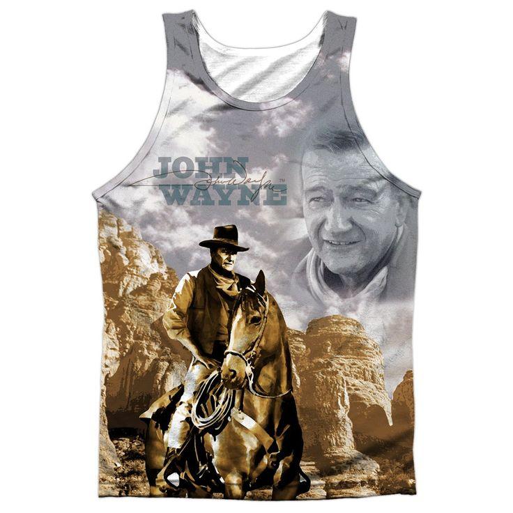 "Checkout our #LicensedGear products FREE SHIPPING + 10% OFF Coupon Code ""Official"" John Wayne/ride Em Cowboy-adult 100% Poly Tank T- Shirt - John Wayne/ride Em Cowboy-adult 100% Poly Tank T- Shirt - Price: $24.99. Buy now at https://officiallylicensedgear.com/john-wayne-ride-em-cowboy-adult-100-poly-tank-shirt-licensed"