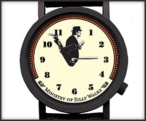 "Ministry of Silly Walks Watch ... gives a new meaning to ""flex time""! #WITM #watches #watch"