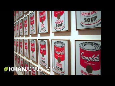 Andy Warhol, Campbell's Soup Cans: Why is this Art? - YouTube