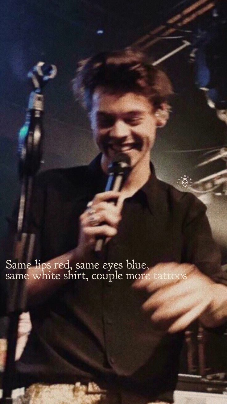 Pinterest: samiam1112 // Two Ghosts // Harry Styles // HS1 // lyrics // music // photo // hot // boy band // hiatus // One Direction // love // cute // good // song // concert