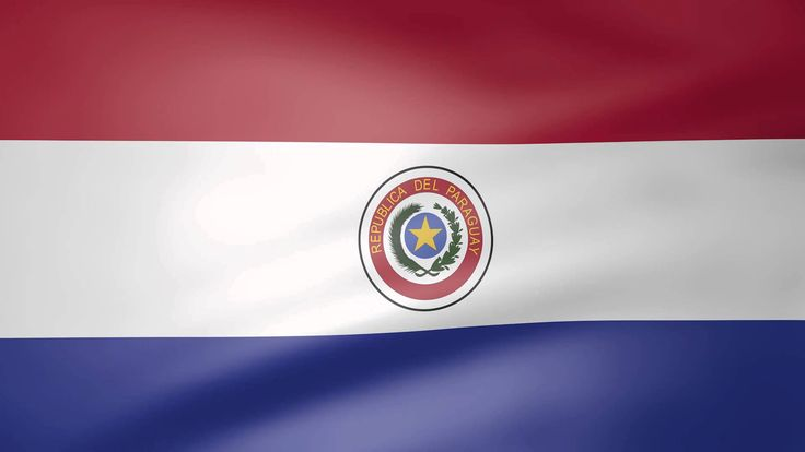 Paraguay Animated  Flag