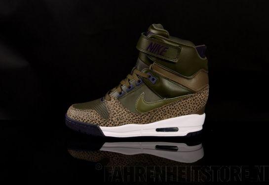 Nike - Nike Air Revolution Sky High sneaker 599410 Dark Loden Medium Olive