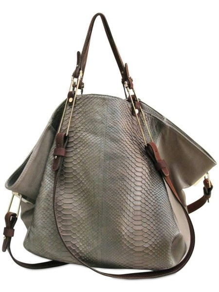 Pauric Sweeney Large Box Tote in Gray (grey) ♥✤