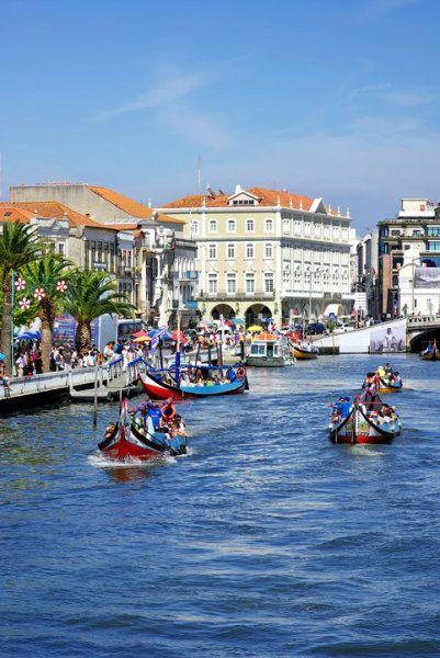 Ria de Aveiro, Centro de Portugal Region... and no, this is not Venice.  :)