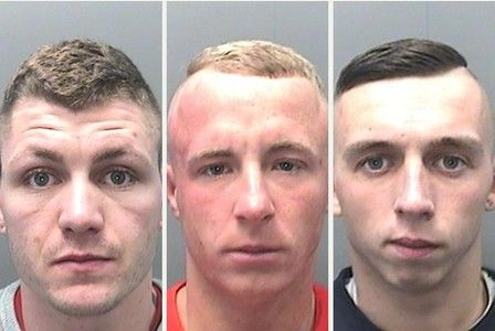 Jail for a gang of burglars who smashed their way into two Swansea homes in the space of a couple of hours. Their mams must be so proud.