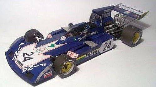 F1 Paper Model 1973 Surtees Ts 14a Paper Car Free