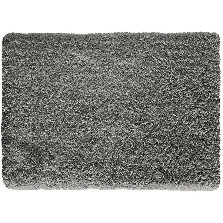 Natco Alpaca Solid Shag Rug, Brown