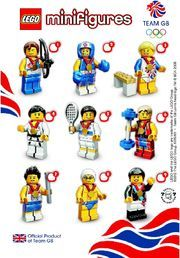 8909: Team GB Minifigures checklist