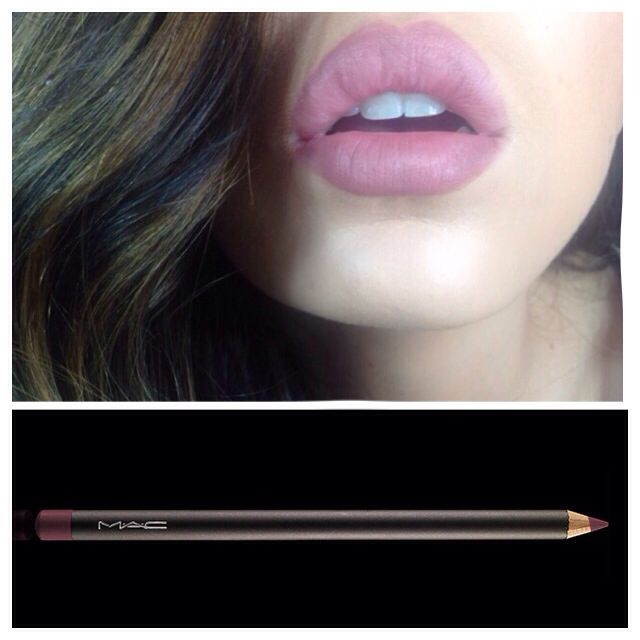 Kylie Jenner lip - Mac whirl lip liner all over the lip - @nicole_courchaine