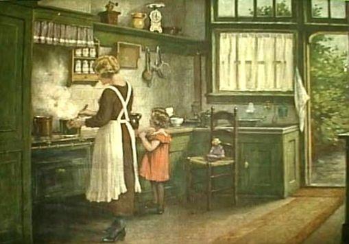 Keukenschoolplaat