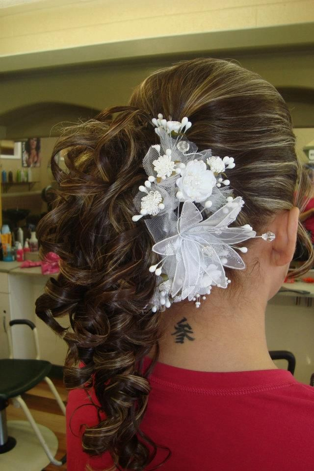 Quince Hairstyles glambychristopher quince hairstylesquinceanera Find This Pin And More On Quince Hairstyles By Kidsrocknoahbib