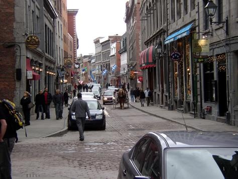 Old Montreal, Rue Saint-Paul