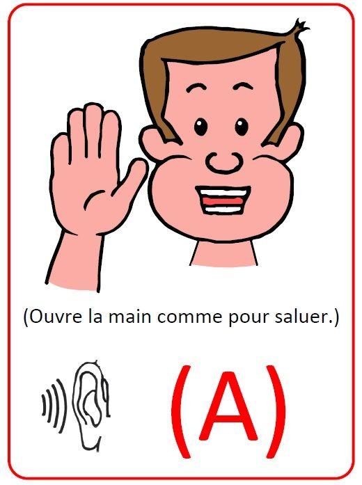 Affichettes sons gestuelles Borel Maisonny
