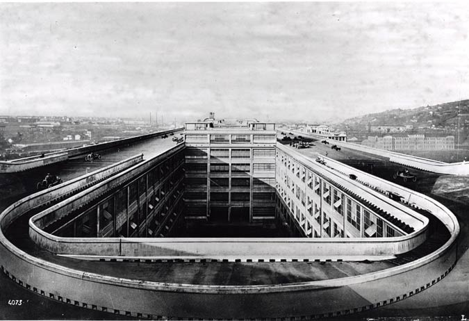 Lingotto Fiat Factory by Giacomo Matte-Trucco