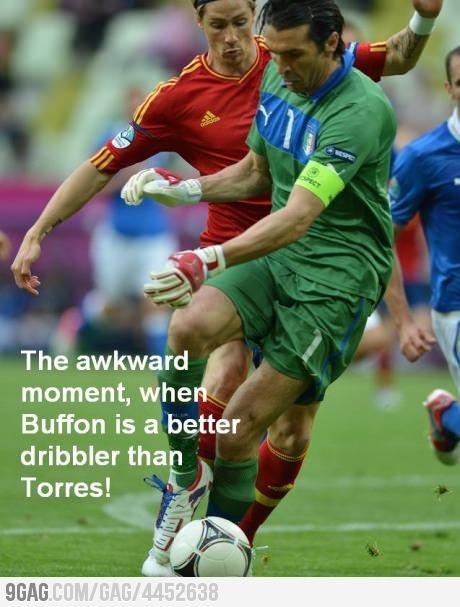 Buffon Vs. Torres
