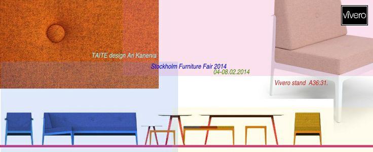 Taite for Vivero (www.vivero.fi) design Ari Kanerva (www.arikanerva.com) @ Stockholm furniture fair 2014