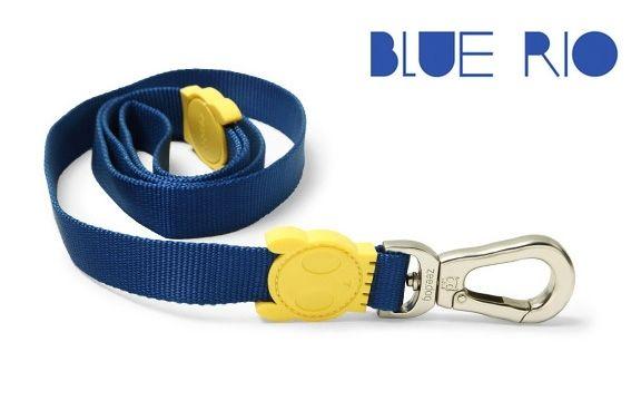 "ZEE DOG ""BLUE RIO"" DOG LEAD"