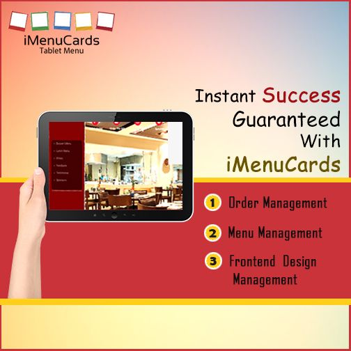 Entice More Customers Easily with Our tablet Menu Solutions. Know More Here: http://www.imenucards.in #imenucards #tabletmenu