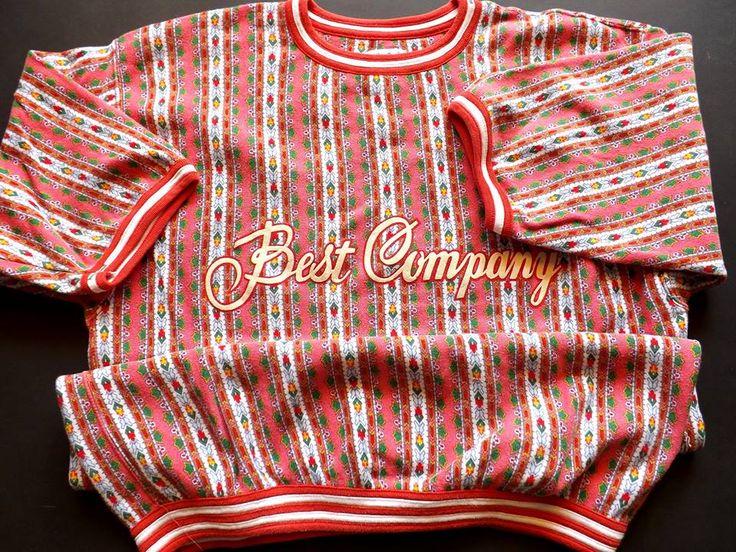 """Felpa """"Best Company' dei Paninari Anni '80"""