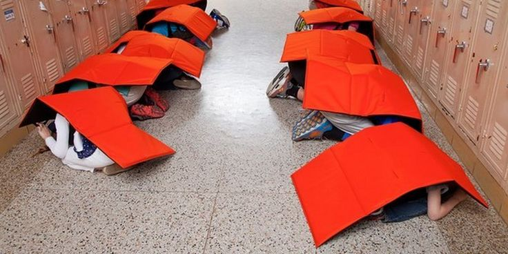 It's come to this. We've now had so many mass shootings that entrepreneurs see space in the market for a bulletproof blanket, made specifically to shield small children from gunfire.