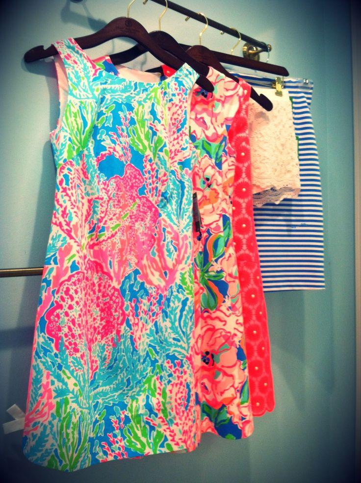My new #lillypulitzer dress. Love, love.