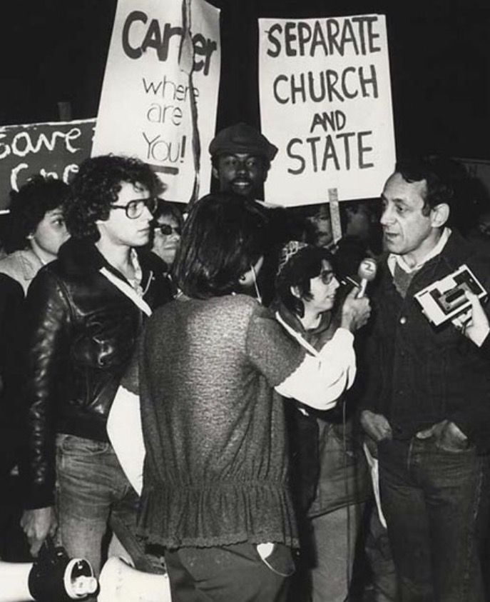 Harvey Milk and Cleve Jones