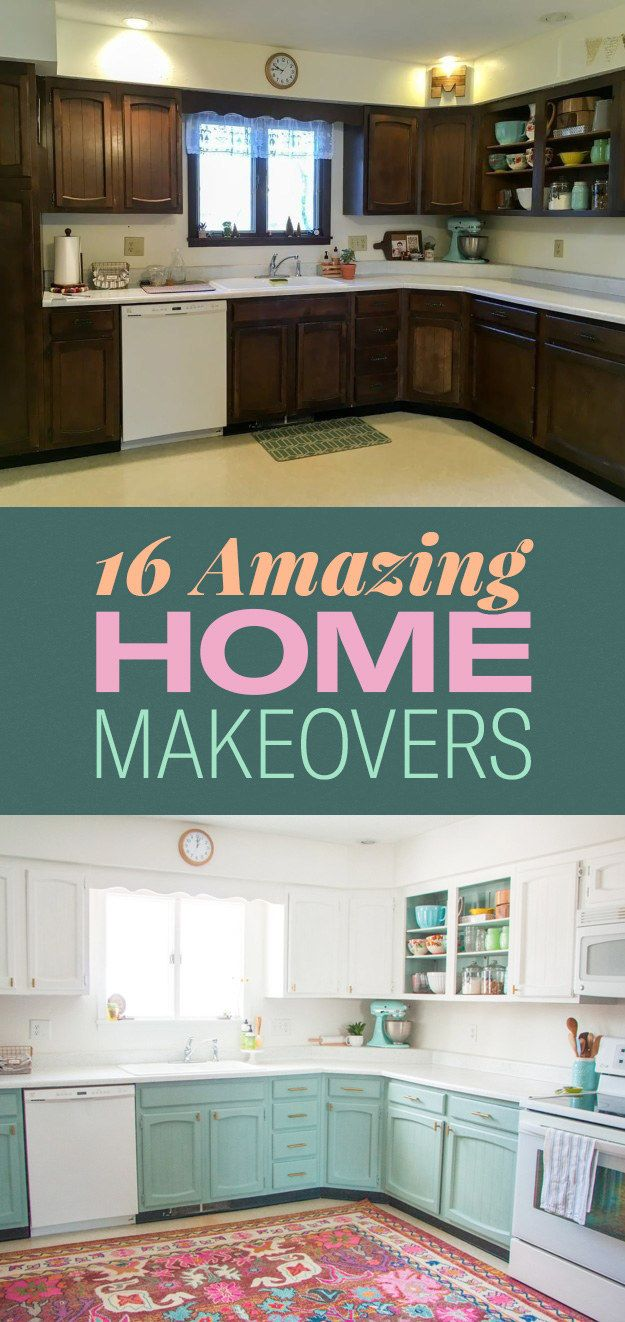 16 Jaw-Dropping Pictures Of Home Makeover Before And Afters