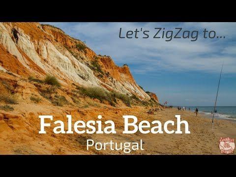 Praia da Falesia Algarve Portugal - Video, Photos, Info