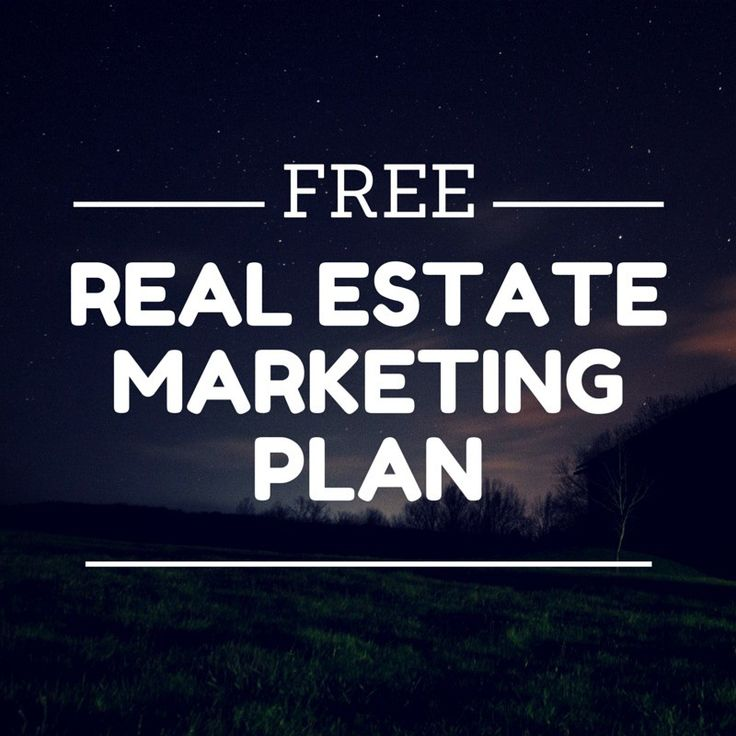 Real Estate Marketing Plans are usually terribly long and ...
