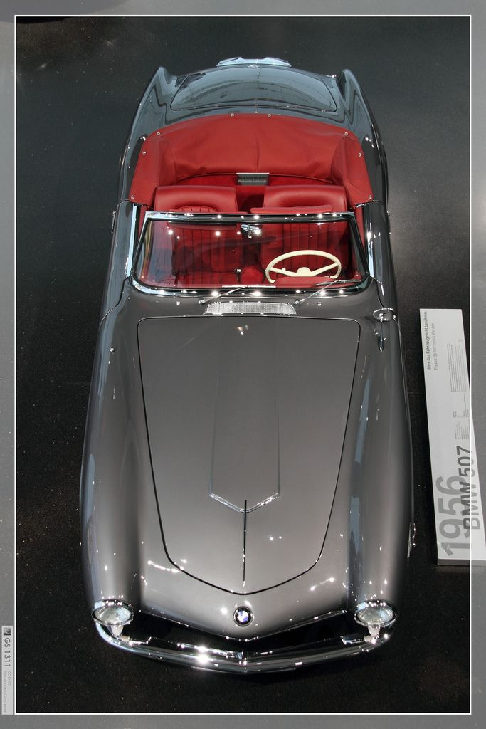 All sizes | 1955 BMW 507 (14) | Flickr - Photo Sharing! #bmw #cars #tyres