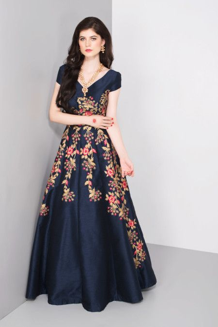 niyoosh-blue-gown-with-floral-embroidery