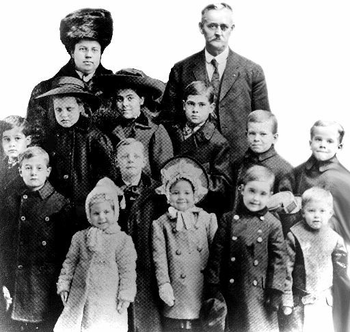 The Orphan Train: ...in 1853, a minister named Charles Loring Brace started the orphan train.  Brace believed that farmers would welcome homeless children, take them into their homes, and treat them as their own.  So he rounded up the kids, got parental permission when he needed it, and took the city kids to the country.  Between 1854 and 1929, the trains took over 100,000 children to adoptive parents in 47 states and Canada.