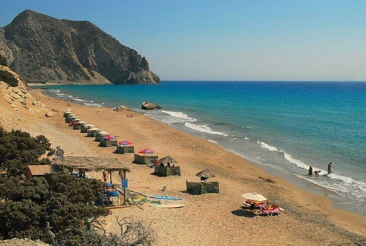 Kefalos beach in Kos island