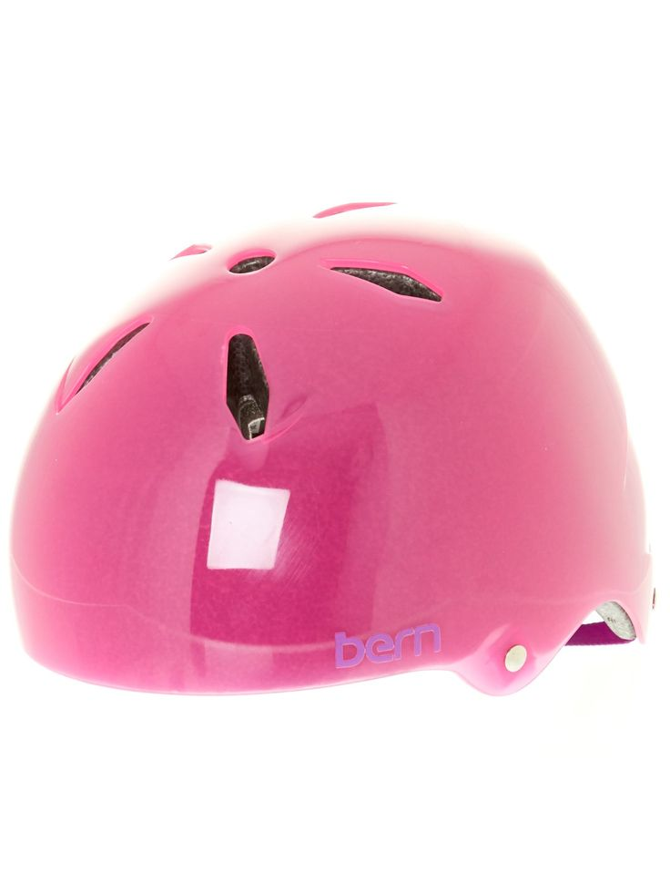 Casque VTT Enfant Bern 2016 Diabla Thin Shell - EPS Satin Translucent Rose