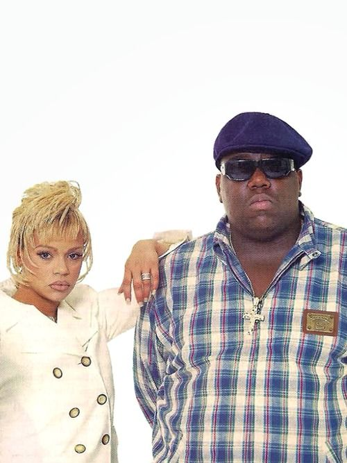Faith Evans and The Notorious B.I.G.....................
