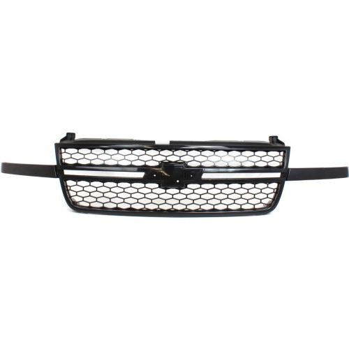 2003-2007 Chevy Silverado 1500 Grille, Honeycomb, Black