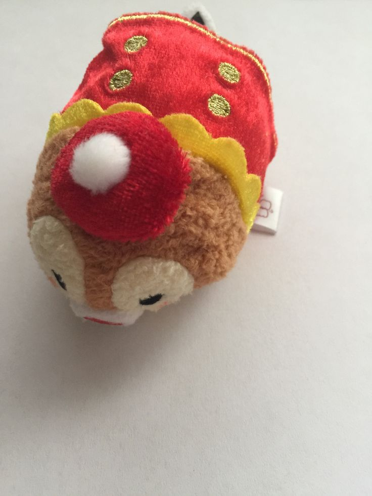 Disney Store Japan Dale Tsum Tsum Mini Plush 3rd Anniversary New