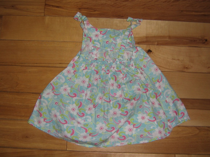 GYMBOREE PALM SPRINGS SWING FLOWER HALTER TOP 6 EUC (from the February '06 line)  $4.00