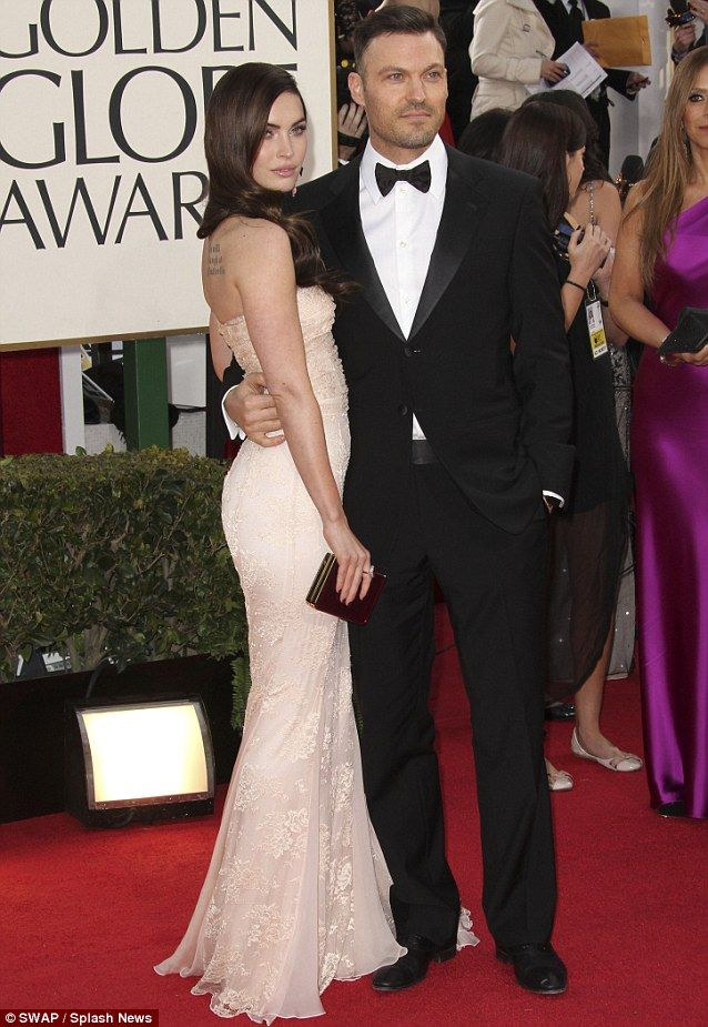 Megan Fox with husband Brian Austin Green