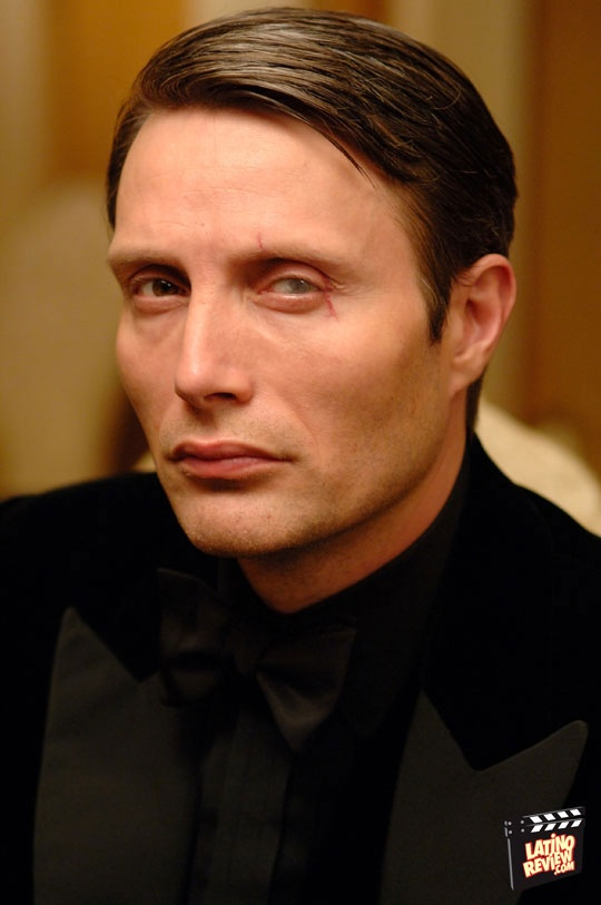 Mads Mikkelsen as Le Chiffre  Casino Royale