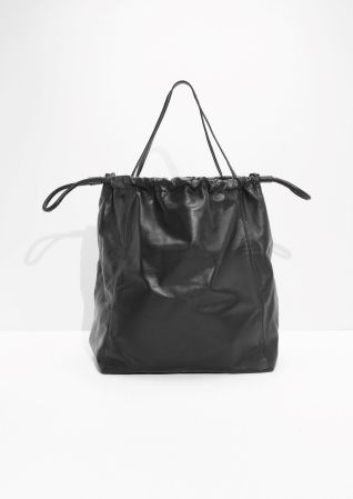 & Other Stories | Oversized Drawstring Tote