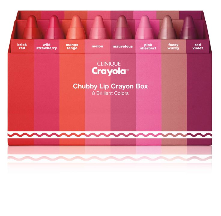 Crayola y Clinique crearon el maquillaje que todas queremos tener - Erika Tipo Web