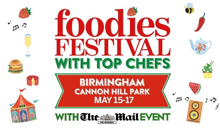 Win a pair of tickets to foodies festival in Birmingham UK 15-17th May. Comp finishes on 2nd May 12am.