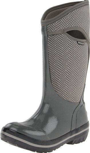 Amazon.com: Bogs Women's Plimsoll Tall Herringbone Boot: Shoes size 7