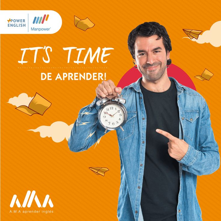 ¡It's time to learn!‍#AMA aprender inglés con Manpower English❤️️Más información de nuestros #CursosDeInglés en: https://goo.gl/beZRrh