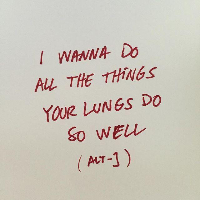 Breath #altj #everyotherfreckle