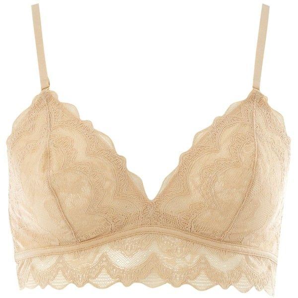 Triumph Essence Delicate essence soft bra (140 BRL) ❤ liked on Polyvore featuring intimates, bras, underwear, lingerie, nude, lingerie bra, strappy lingerie, tshirt bra, nude bra and strappy bras